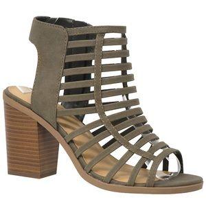 Never worn caged heels